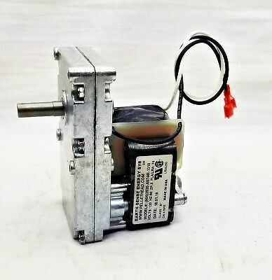 Harman Pellet Stove - Auger Feed Motor # 3-20-60906, 4 RPM CW Accentra Insert +