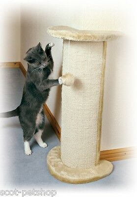 Lorca Cat Tree Scratching Post For Cats Sisal Corner Scratcher Large Beige 75 cm