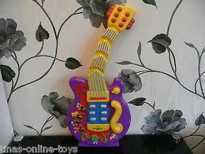 ***the Wiggles Wiggling Dancing Guitar***plays 8 Songs!