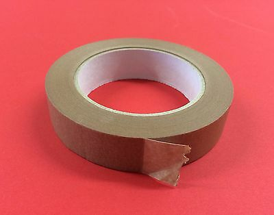 25mm Brown Adhesive Backing Tape Picture Framing 50m