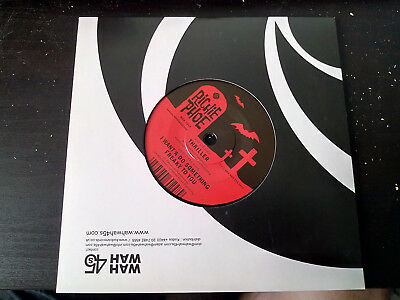 """Richie Phoe - Thriller / I Want'A Do Something Freaky To You 7"""" VINYL"""