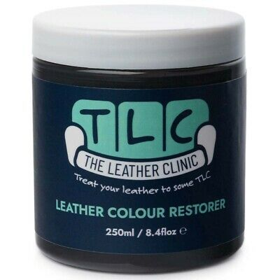 DARK GREY Leather Colour Dye Restorer Repair faded & worn leather Sofas Chairs
