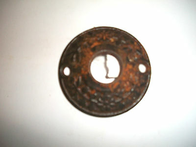 Antique Door Knob Backplate Escutcheons