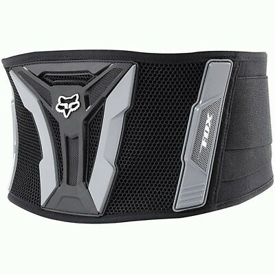Fox Racing NEW Mx Turbo Black Dirt Bike Enduro Off-Road Motocross Kidney Belt