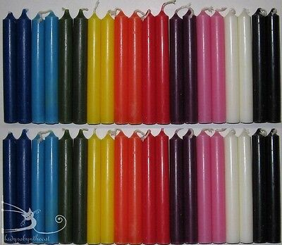 Chime Mini-Candles: Set of 40 Spell Candles - Free Shipping