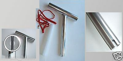Anodized Aluminum NEW Wahoo Industries Double Rod Rigger Boat Rod Holder # 108