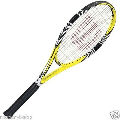 New Wilson Pro Hybrid Tennis Racket Grip size 4 3/8 Model # WRT58390U RACQUET