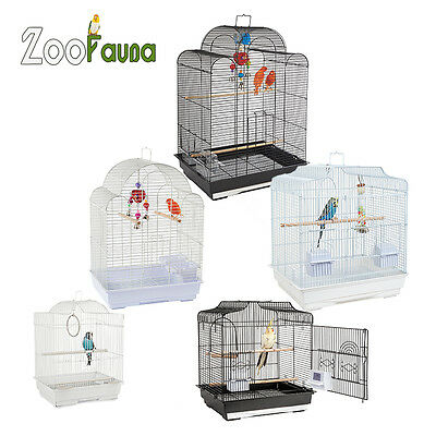 Large & Small Bird Cages Budgie Cockatiel Lovebird Canary Finch New Cage
