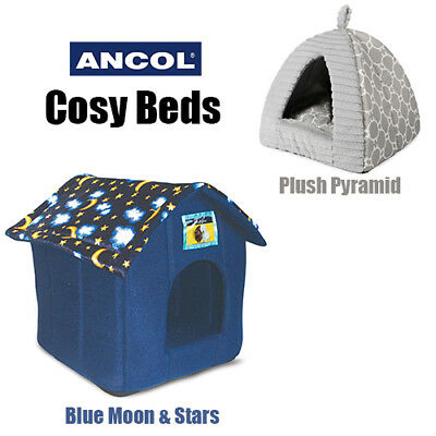 New Cat Small Dog Rabbit  Pet Indoor House Bed Puppy Kitten Ancol Cute Cosy JTB