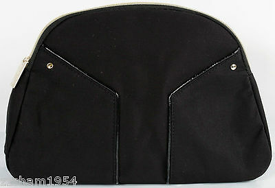 Yves Saint Laurent Cosmetic Bag pouch Makeup Bag designer case New Black L cecf567dbacab