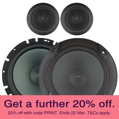 "Alpine SPS-610C 6.5"" Component Speakers with LOCAL AUST WARRANTY"