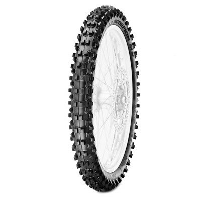 Pirelli Tires Scorpion MX Mid Soft 80/100-21 (32) Motocross Dirtbike Front Tyre