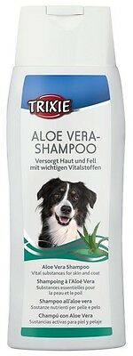 Dog Shampoo Aloe Vera Antibacterial Properties For Long Haired Dogs 250 ml