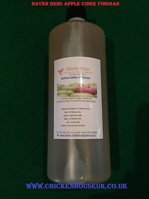 1.1L Apple Cider Vinegar With Mother Poultry Livestock Chickens & Pets Ltr Litre