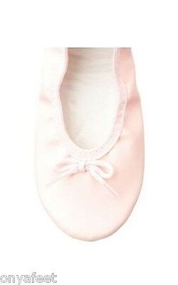 100% AUTHENTIC GENUINE Womens Grosby Jiffies ballet dance slipper shoes ~ PINK