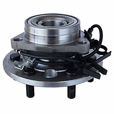 New Wheel Hub and Bearing Assembly w/ABS 4WD 6-Lug Front