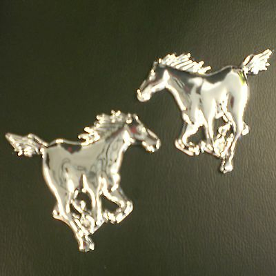 Horses Badges Sign Sticker For Horse Box Trailer Car Tool Box Mustang Pony Jump