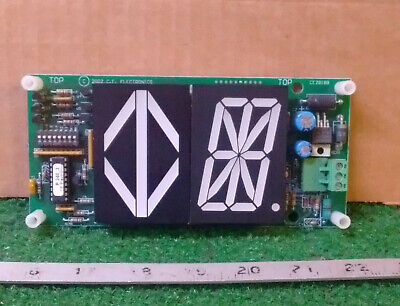 1 New Ce Electronics Mh122A-Rrx Remote Display Indicator ***make Offer***