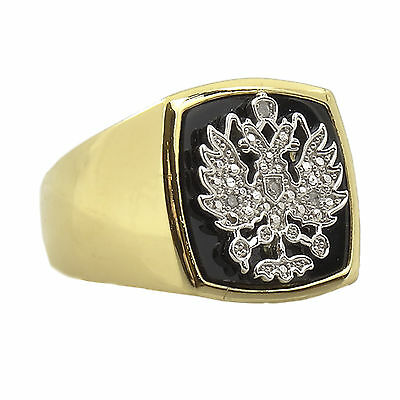Elvis Presley Famous 'Russian Tsar Ring'  -  Gold Plated