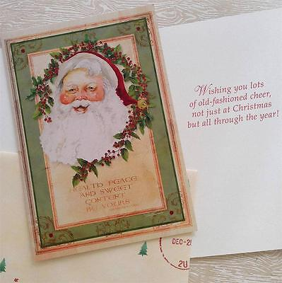 10 Barb Tourtillotte Christmas Cards - Santa Claus Shakespeare Quote