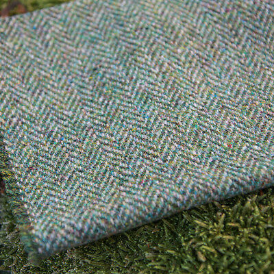 Harris Tweed Curtain/Upholstery Fabric - Herringbone Weave - Mountain Bracken