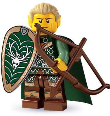LEGO 8803 Elf Collectible Minifigure Series 3 Archer With Bow & Arrow NEW SEALED