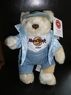 HRC Hard Rock Cafe Dubai Summer Tourist Teddy Bear Bär 2002 Herrington XL Fotos
