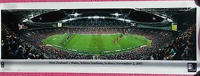 Rugby Print - Rugby Union New Zealand V Wales Nov 2Nd 2003