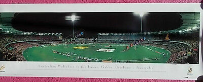 Rugby Union Print - Australian Wallabies V The Lions - Brisbane - Australia 2001