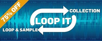 Loop It Collection - Audio Loops And Samples. 75% Off.