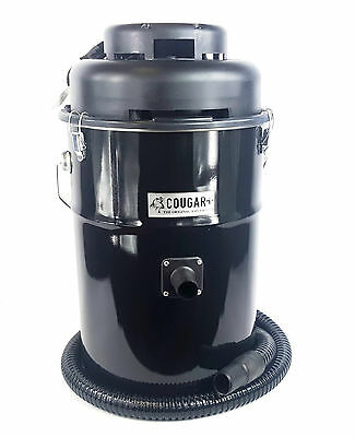 Dustless Cougar Ash Vac- Stoves, Fireplace, Grills Flame Retardent Vacuum -SALE