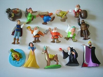 Disney Snow White & The Seven Dwarfs Gnomes Figurines Set Albert Heijn