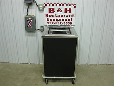 "Stainless Steel Cabinet for 14"" x 18"" Serving Tray Platform Lowerator Dispenser"