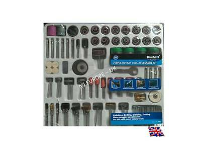 Rotary Tool Accessory Kit - Mini Hobby Drill - Fits Dremel - 216 Pc - New