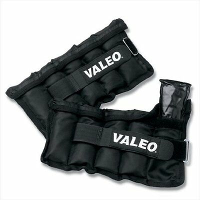 Valeo 10-Pound Adjustable Ankle / Wrist Weights AW10, New, Free Shipping
