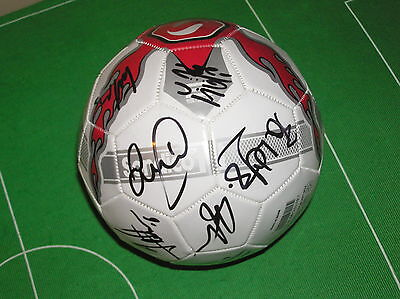 Wigan Athletic Brand New 2013/14 Squad Signed Sondico Football - 16 Autographs!