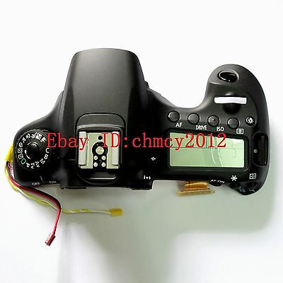 Original NEW LCD Top cover / head Flash Shell for Canon EOS 60D Digital Camera