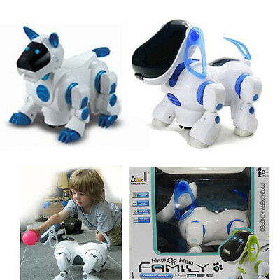 Robotic Pet Dog Robot Electronic Toy Puppy for Kid's Children's Gift to Play