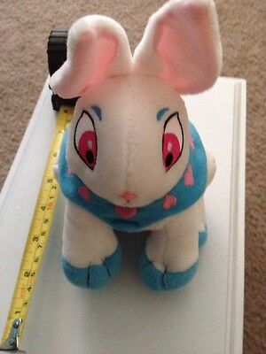 NEOPETS Plush Cybunny With Tags 7 Inches Tall