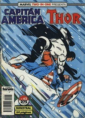 CAPITÁN AMÉRICA vol. 1 - nº 63 (Two-In-One con THOR)
