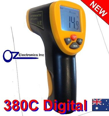 High Quality Digital Infrared Non Contact Temperature Thermometer Laser Gun 350c