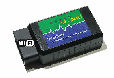 OBD2 WiFi Interface, Diagnose mit ipad/iphone/Android Geräten, Alfa Fiat Lancia