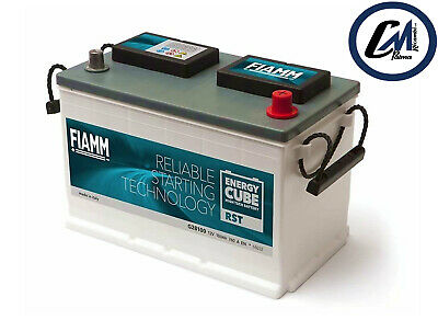 BATTERIA FIAMM CYCLOP STARTER/ENERGY CUBE 100Ah 720A POLO +DX