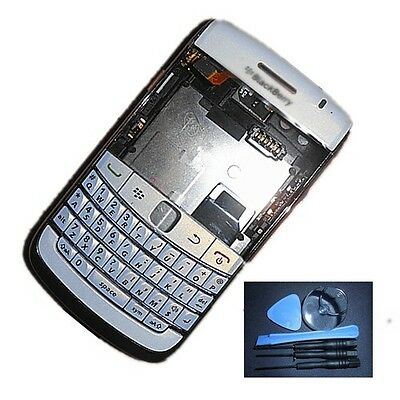 Free shipping new  White Full Housing For Blackberry Bold 9780+tools