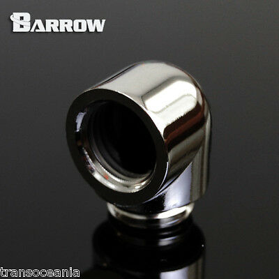 """Barrow G1/4"""" 90° Female to Male Fitting Adapter Elbow"""