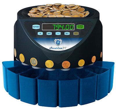 Coin counter Coin Sorter Money machine SBV EURO NEW !