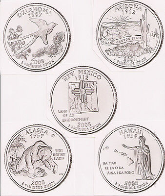 2008 State Quarter P&D BU Set (10 Coins) Buy it Now