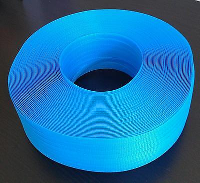 12mm x 1000m Blue Band Poly Strap 90kg Breakload Strapping Polypropylene Packing