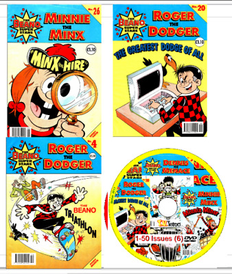 736 Beano Comics, SuperStars, Comic Library, Beano Books on 7 DVDs