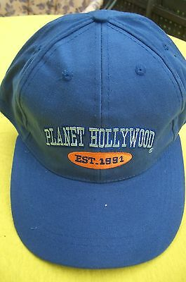 Planet Hollywood Berlin Blue Basecap XL Fotos